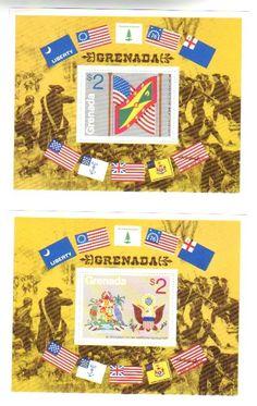 Grenada Bicentenary OF American Revolution 2NO M SS 1975 | eBay