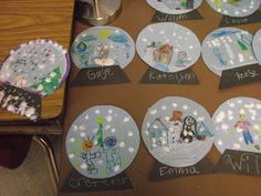 First Grade O.W.L.s: Glitter Fun... and pinterest crafts!
