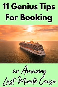 Booking a last minute cruise can be an amazing opportunity to save money and have a wonderful vacation at a random time in the year! Learn the best last minute cruise tips to help ensure you get the best prices, have the best experience, and more! Packing List For Cruise, Cruise Tips, Cruise Vacation, Vacation Trips, Vacations, Cruise Travel, Last Minute Cruises, Alaskan Cruise, Cruise Destinations