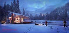 Making of Mountain Retreat - 3D Architectural Visualization & Rendering Blog
