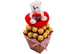 For You With Love at Chocolates Bouquets | Ignition Marketing Corporate Gifts http://www.ignitionmarketing.co.za/valentines-day