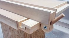 Homemade Table Saw Fence System | Easy Simple New Style - YouTube #woodworkingtools
