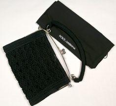 Dolce & gabbana crochet handbag