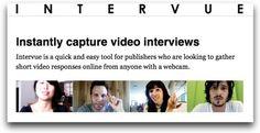 Permite grabar entrevistas en video online gratuitamente