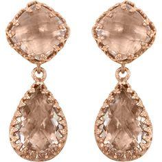Larkspur & Hawk Topaz Small Jane Earrings ($800)