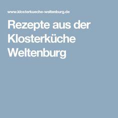 Rezepte aus der Klosterküche Weltenburg