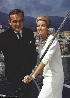 Grace Kelly con Ranieri di Monaco