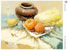Still Life Sketch, Still Life 2, Impressionist Art, Impressionism, Casein Paint, Fashion Painting, Ink Painting, Gouache, Pastel