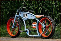 Gulf Retro Kustom Bicycle