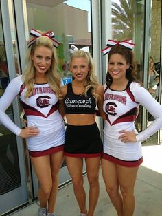 College Cheerleader Heaven: Game of the Day: (21) Texas A&M v. (9) South Carolina