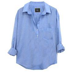 Rails Elle Blouse in Blue at Maverick Western Wear