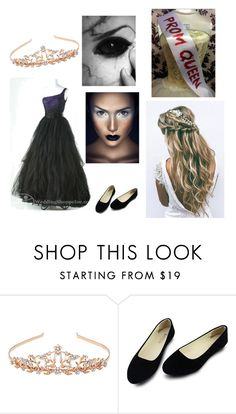 """Demon prom queen"" by dark-rainbow-ninja ❤ liked on Polyvore featuring Monsoon"
