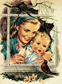 Counting down until spring… detail from 1946 A&P ad.