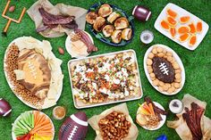 For more winning football snacks, click here. | Here's A No-Cook Peanut Butter Dip To Make For A Football Party