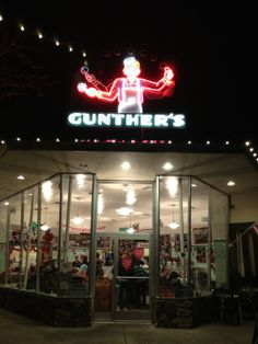 Gunther's Quality Ice Cream in Sacramento, CA