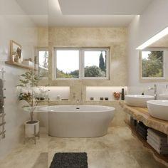 3D návrh kúpeľne Corner Bathtub, Bathroom, Washroom, Full Bath, Bath, Bathrooms, Corner Tub