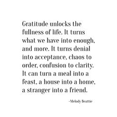 gratitude -- melody beattie