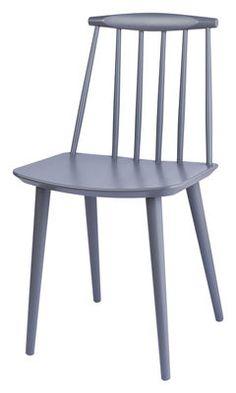 Scopri Sedia J77 Chair, Grigio di Hay, Made In Design Italia
