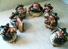 Fancy - Set of 7 Mariachi Band Figurines
