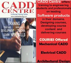 CADD Centre #Sadar and #Nandanvan offers training to engineering students and professionals on leading #SoftwareProducts in their  domains. Designing courses, developing course content and delivering courses ... Know more about Courses Click on for more information : http://caddcentrenag.com/courses.html