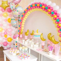 I love you to the moon and back! Super cute Qualatex baby shower balloons! #balloonwall #balloonarch #partyfavors #raleighnc #ncballoons #babyshower #balloondelivery #balloons