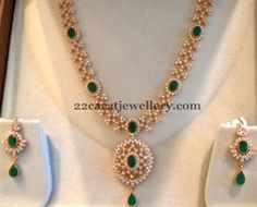 33 Grams Chic CZ Necklace | Jewellery Designs