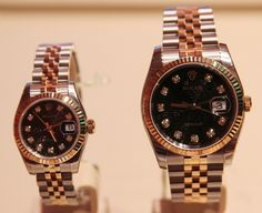 Mens and womens matching Rolex  Colton & I..someday :)