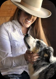 Chaley Harney - executive director of the Montana Beef Council Cowboy And Cowgirl, Cowboy Hats, Beef Cattle, Ranch Life, We Are The World, Cowgirls, Wonderful Places, Cowboys, Montana