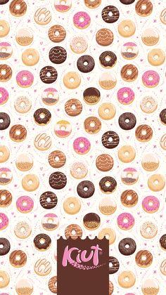 Kawaii Wallpaper, Print Wallpaper, New Wallpaper, Wallpaper Backgrounds, Scrapbook Background, Collage Background, Best Iphone Wallpapers, Cute Wallpapers, Chocolate Font