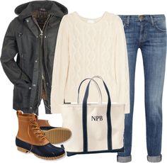 """New England Style"" by classically-preppy ❤ Estilo Hipster, Estilo Preppy, Fall Winter Outfits, Winter Wear, Autumn Winter Fashion, Preppy Style, Style Me, New England Style, New England Fashion"