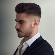 Top 50 Short Men's Hairstyles Best Short Haircuts for Men in 2019 is part of Mens hairstyles short - Top 50 Best Short Men's Hairstyles and haircuts in 2019 The ultimate guide with pictures of the most popular hairstyles & haircuts for men! Best Undercut Hairstyles, Mens Hairstyles Pompadour, Short Pompadour, Top Hairstyles For Men, Popular Mens Hairstyles, New Short Hairstyles, Best Short Haircuts, Popular Haircuts, Cool Haircuts