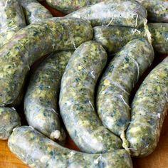 Sausage recipes - from bratwurst to chorizo. - Sausage app your life - Sausage recipes – from bratwurst to chorizo. – Sausage app your life - Chorizo Sausage, Bratwurst Recipes, Sausage Recipes, Cuban Recipes, Thai Recipes, Halloumi, Spinach Health Benefits, How To Make Sausage, Barbecue