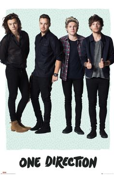 One Direction Mint - Official Poster. Official Merchandise. Size: 61cm x 91.5cm. FREE SHIPPING