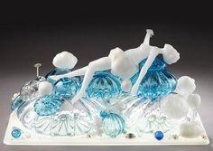 Flameworked Glass Sculptures by Carmen Lozar