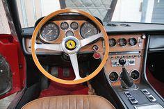 1968 Ferrari 365 GT 2+2 Serial Number 11663-Dashboard overall