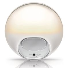 Philips Wake-Up Light With Colored Sunrise Simulation for Natural Waking Radios, Mens Gadgets, Id Design, Color Changing Lights, Philips, Light Therapy, Lampe Led, Industrial Design, Lighting Design