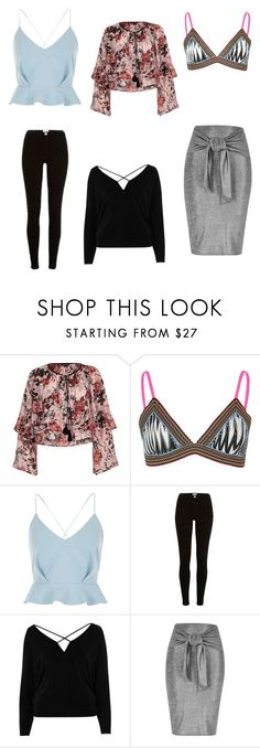 """""""Like a river"""" by audjvoss ❤ liked on Polyvore featuring River Island"""