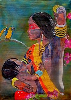 obra, os/t ,força da floresta, por Edna Badu