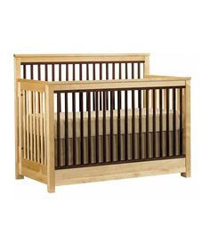 Natural Encore Built to Grow Crib from Young America on #zulily #madeintheusa
