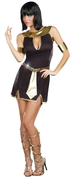 Walk Like An Egyptian Adult Cleopatra Costume - Egyptian Costumes