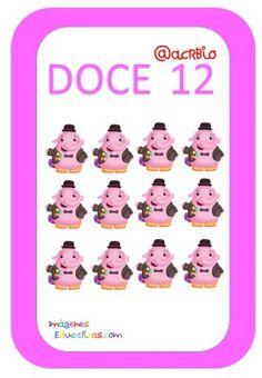 Tarjetas de Números Inside Out 1-20 (12) Dragon Ball, Family Guy, Preschool Math Activities, Card Games, Griffins