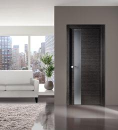 Flora 03 Modern Interior Door in Black Apricot Finish & 15 Best Modern Interior Doors images | Contemporary interior doors ...