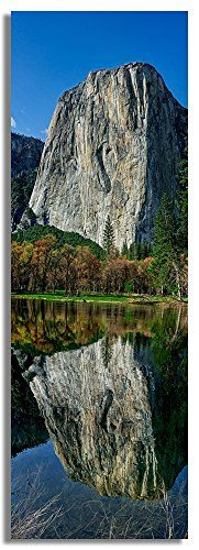 El Capitan Reflections, Yosemite National Park, CA, USA - Original Landscape Photography Canvas Art Print for Office or Home Display and Decor by by Yosemite National Park, National Parks, Canvas Art Prints, Monument Valley, Landscape Photography, Reflection, To Go, Poster Prints, Display