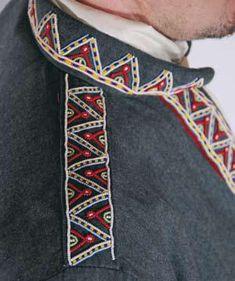 Sami costume: Kola Sami tunic from Russia
