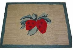 Strawberry Kitchen Rugs | home kitchen home decor area rugs pads all area rugs