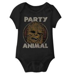 "Chewbacca ""Party Animal"" Onesie"
