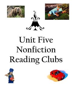 """Students keep the """"reading club"""" momentum going as they launch into nonfiction reading and sharing. See more at teacherspayteachers.com"""