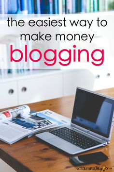Are you a blogger who is struggling to earn an income from your blog? Here's the easiest way to make money blogging, starting right now.