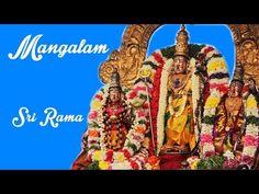 Sri Ramachandra - Mangalam Song - Ramar Garuda Sevai - Thiruvallikeni Parthasarathy Perumal Temple