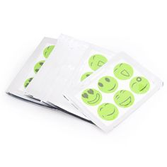 20pcs Smile Face Anti Mosquito Patch Sticker Repellent Pest Control